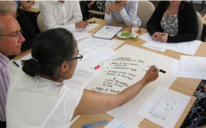 Establishing priorities during the Design by Consensus workshop