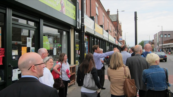 High street facelift element of regeneration in Openshaw, Manchester