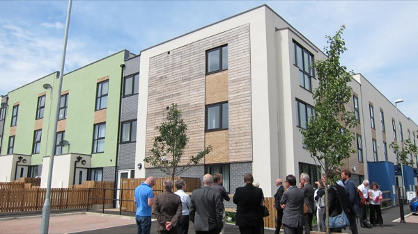 New homes being delivered in Ordsall, Manchester