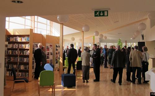 Opening of Gamlingay Eco Hub