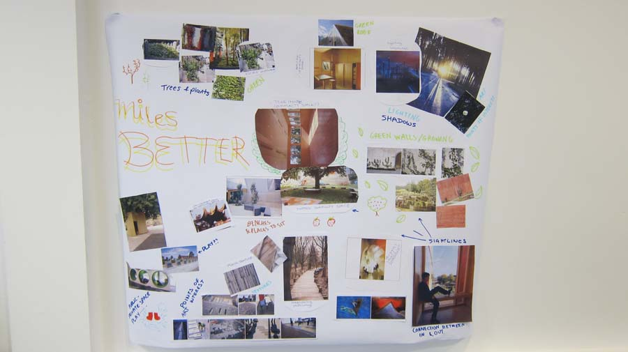 Wandle Design spaces by design with wandle residents and staff the glass house