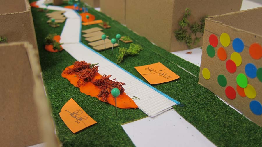 Exploring the design of open spaces with Wandle residents2