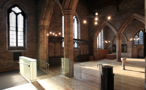 Re-ordering of St Peter's Church, Peterchurch, Herefordshire by Communion Architects