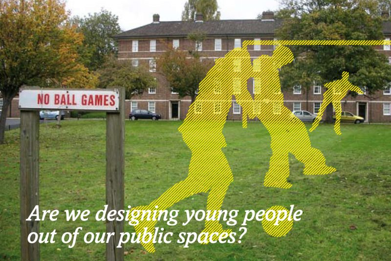 Are we designing young people out of public space?