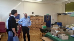 Workshop with Age UK Enfield 2016