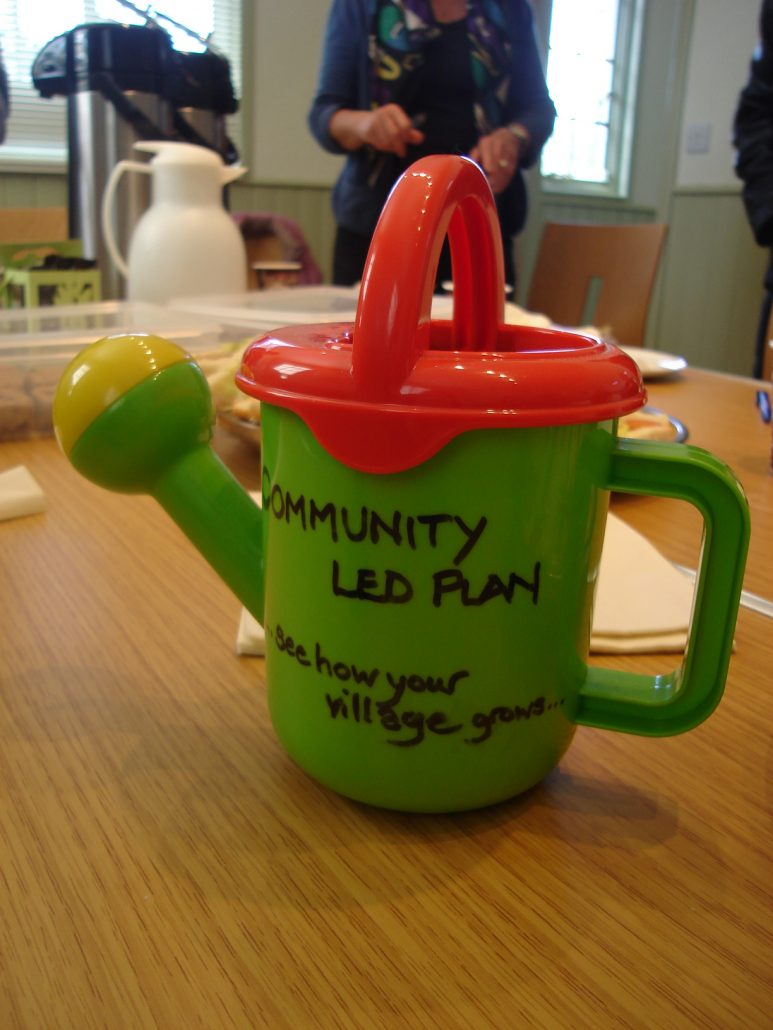 Kirdford Community Led Plan watering can