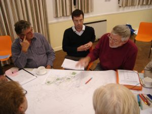 Kirdford mapping workshop 2010