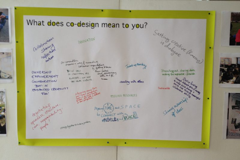 Scaling up co-design poster