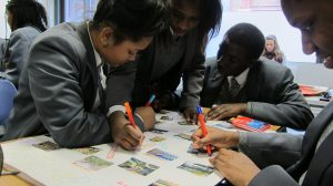 Scaling up co-design: design training young people