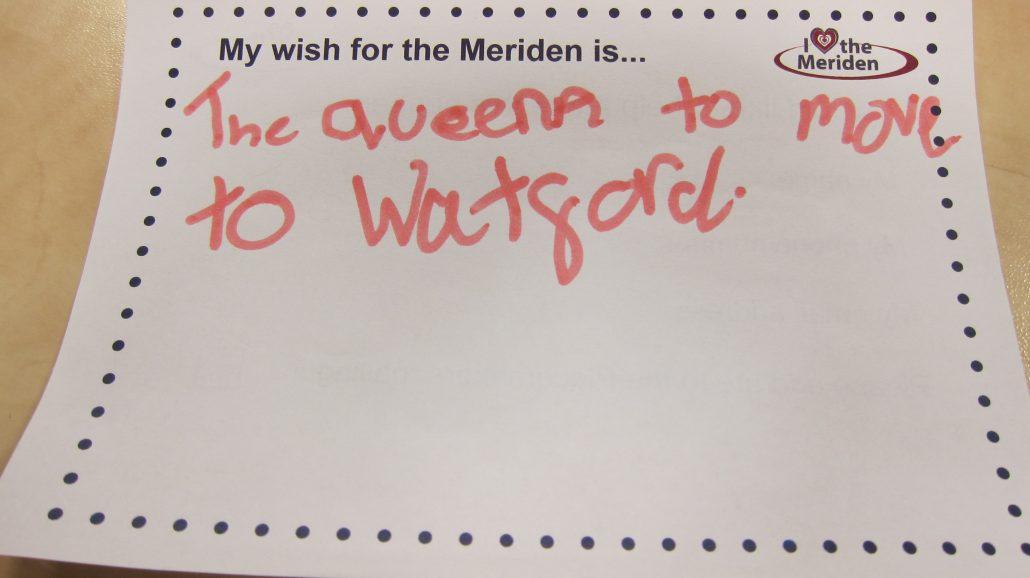 My wish for the Meriden