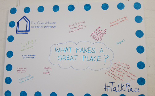 What makes a great place poster