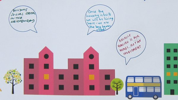 community led housing comments