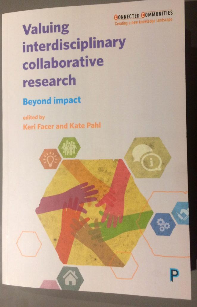 Valuing interdisciplinary collaborative research cover
