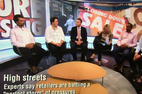 high streets panel discussion