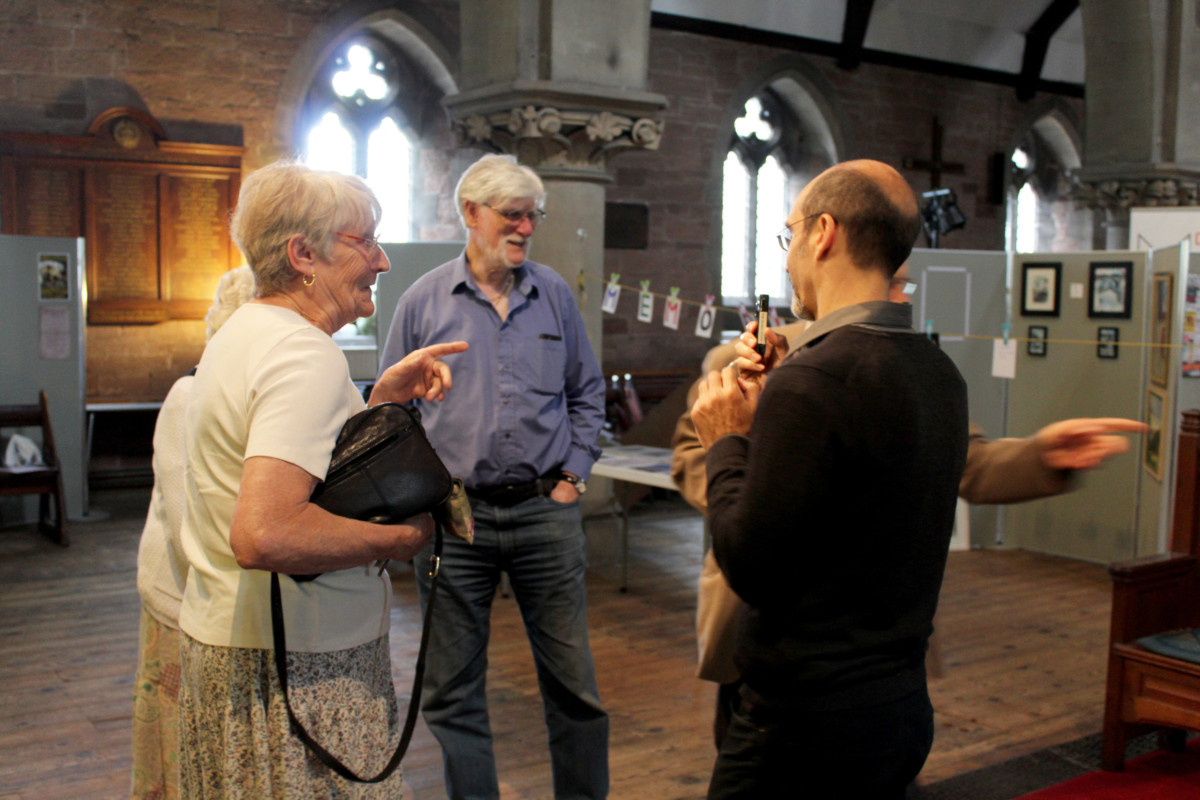 History day at St John's United Reformed Church, Stourbridge, July 2016