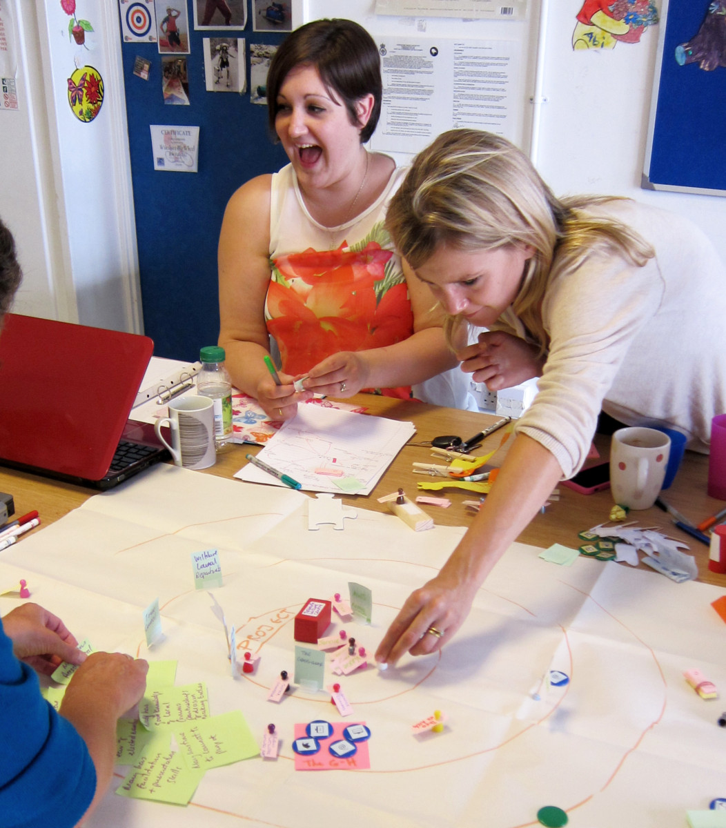 Asset mapping workshop with Tidworth Mums