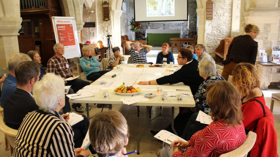 Engaging communities in design decision-making