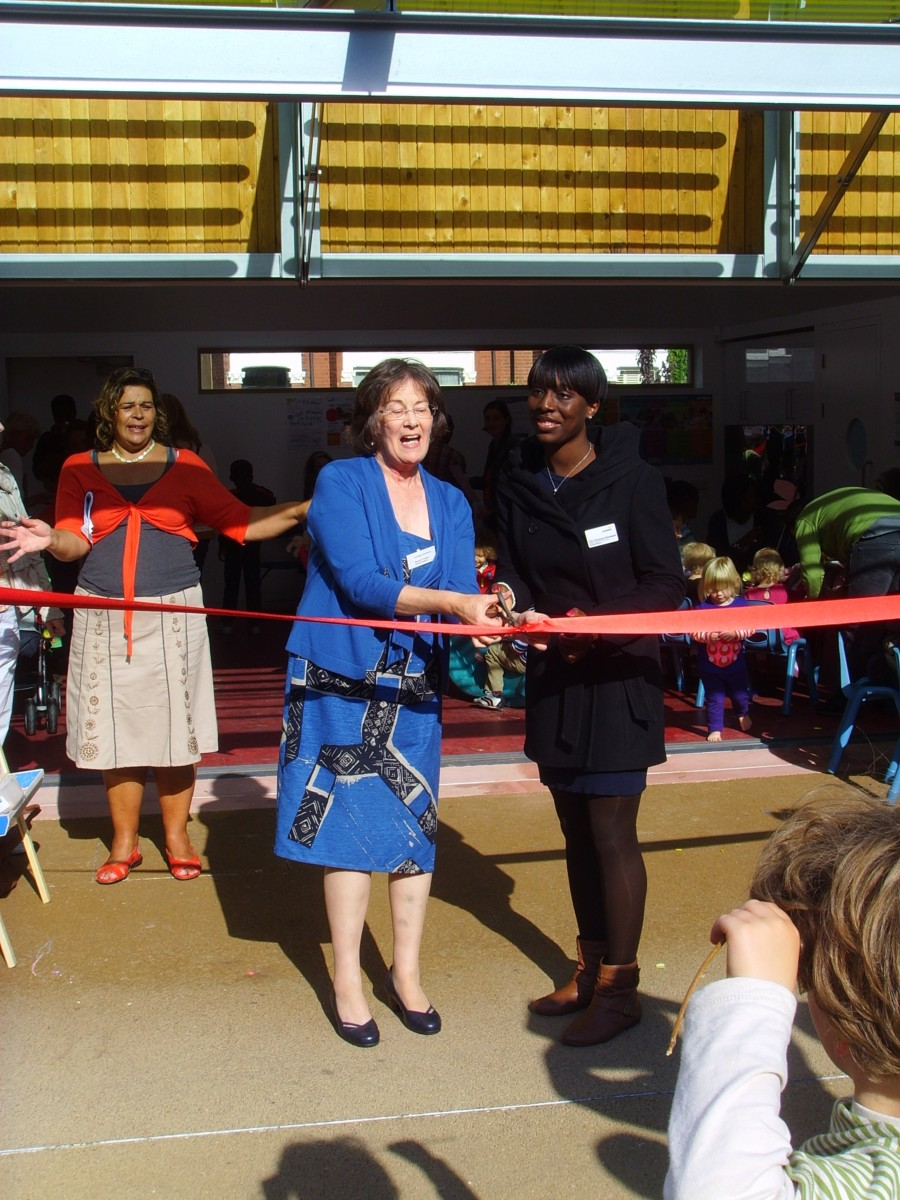 Opening the new space in 2010