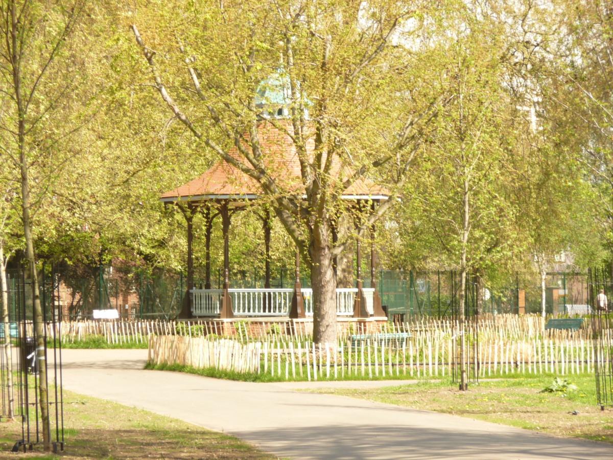 Myatt's Field Park in Lambeth, South London
