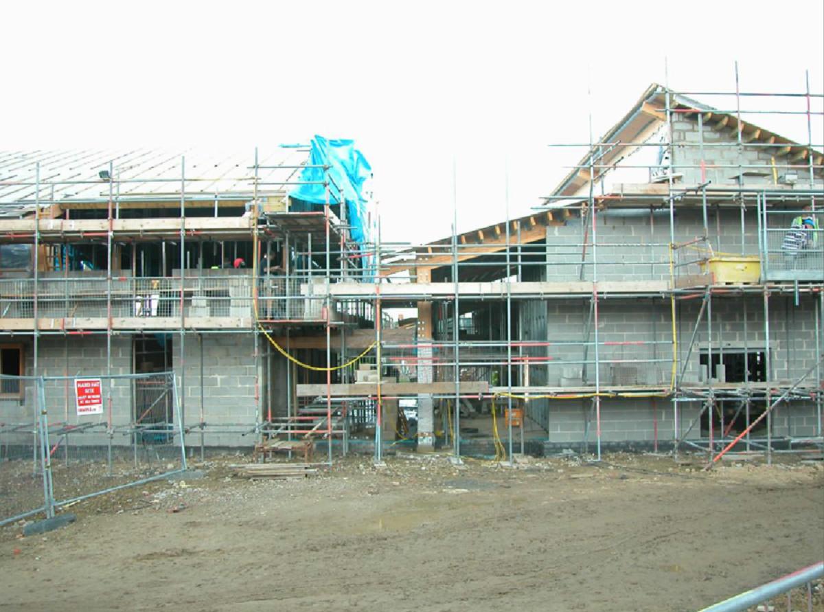 The community centre in development