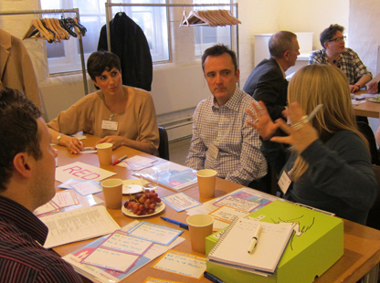 Cross-pollination at The Glass-House event Collaboration for Innovation in Place (London, 2015)