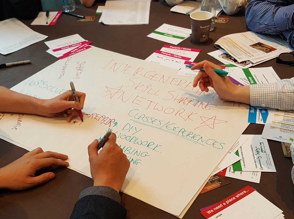 Putting heads and assets together at the Future of London Placemaking Conference (2017)