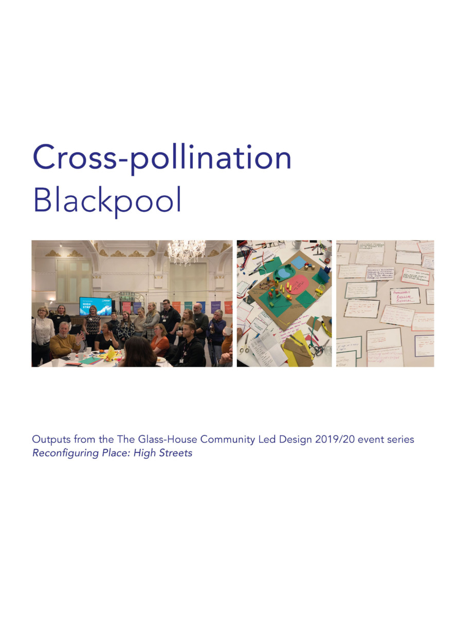 Cross-pollination Stories: a snapshot from Blackpool