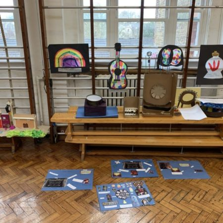 remote workshop with Union Chapel and Canonbury School