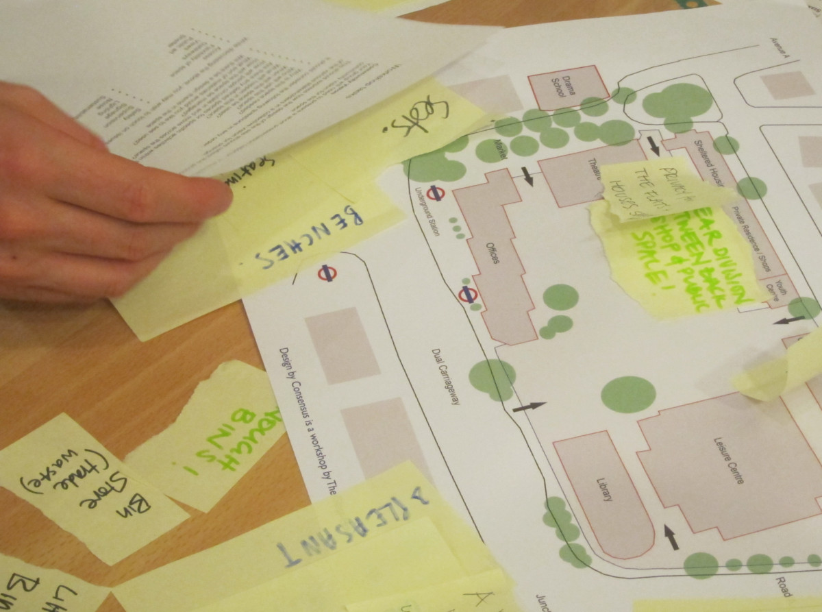 Design by Consensus workshop with Landscape Institute in 2014