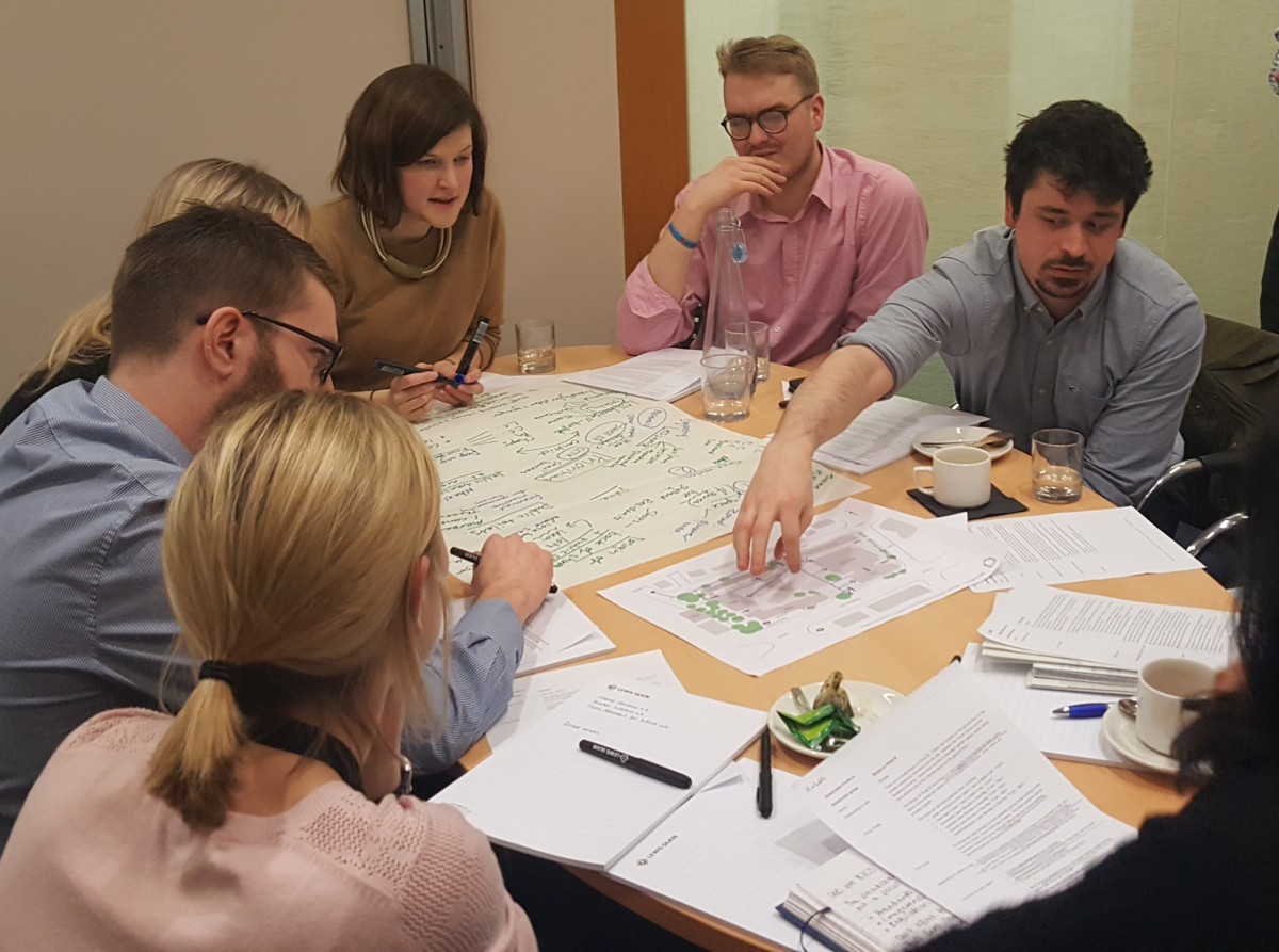Design by Consensus at Future of London training in 2018
