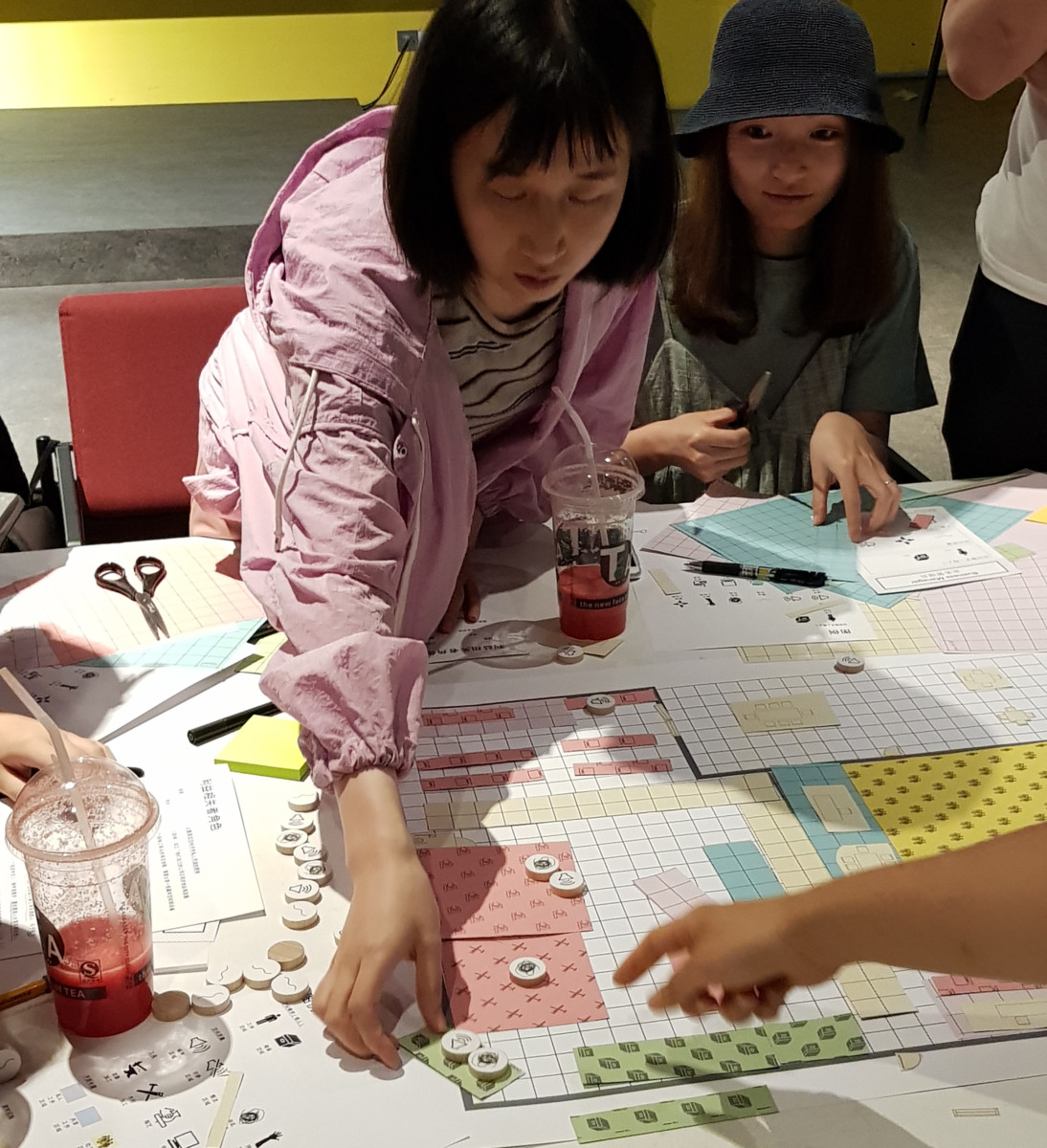 Design by Consensus Makerspaces  workshop in Shanghai in 2019