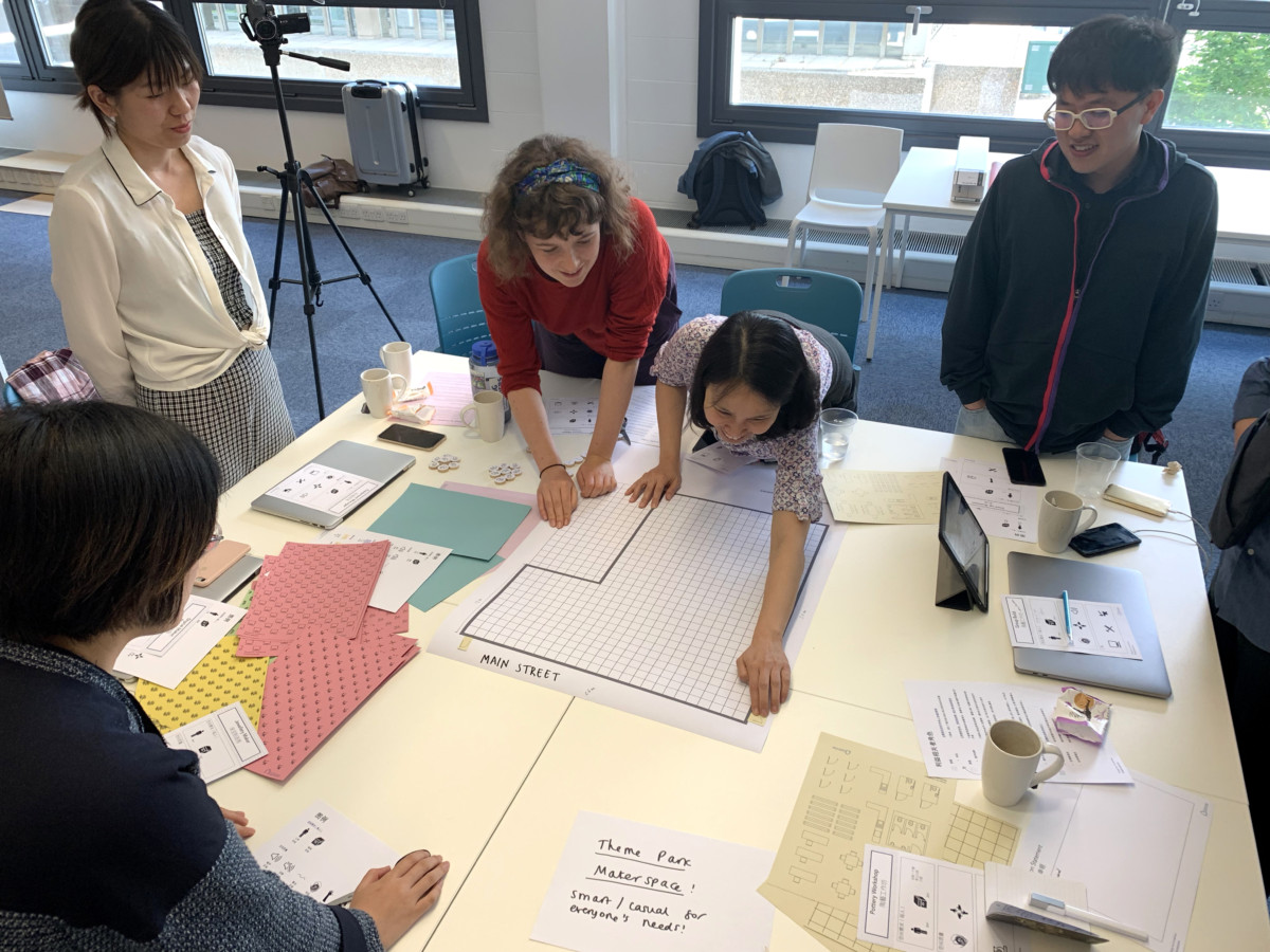Creative makerspaces workshop at Brunel University
