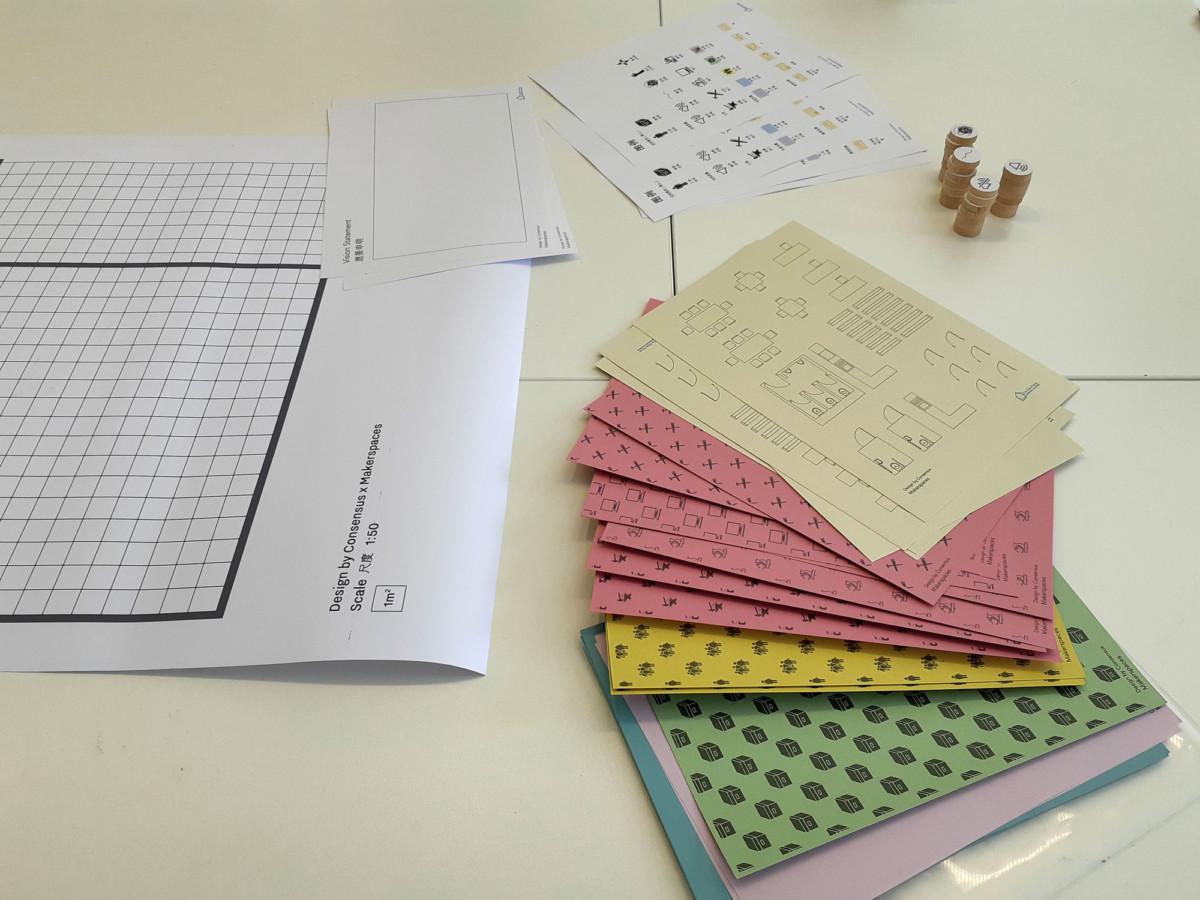 Creative makerspaces Workshop material