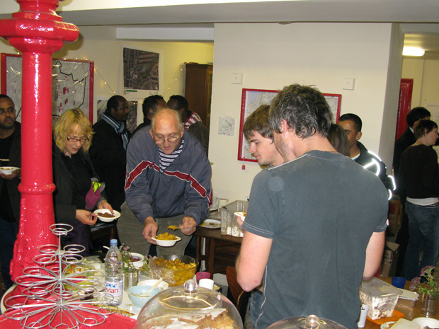 People at the Food fuddle event